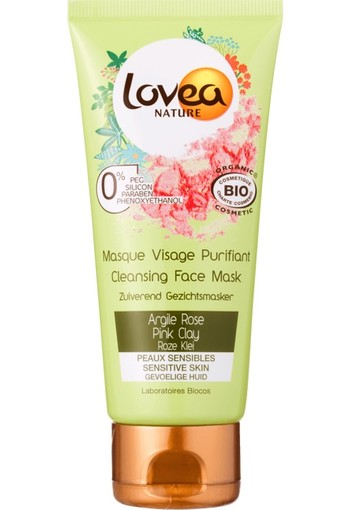 Lovea Cleansing Face Mask Pink Clay 75 ml