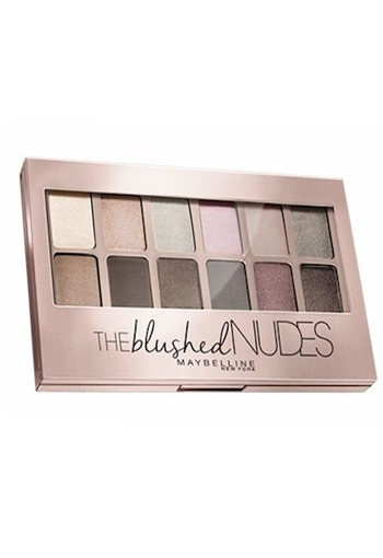 MAYBELLINE OOGSCHADUW PALETTE THE BLUSHED NUDES - 12 ROZE NUDE TINTEN