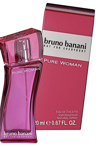 Bruno Banani Pure Woman Eau de Toilet 20 ml