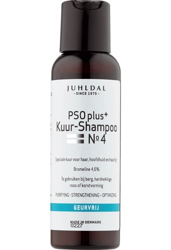 Juhldal PSO Shampoo No 4  plus +100ML