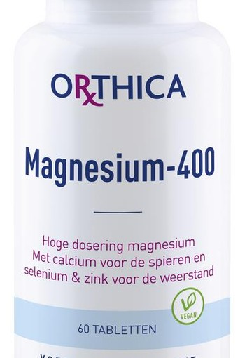 Orthica Magnesium 400 (60 tabletten)