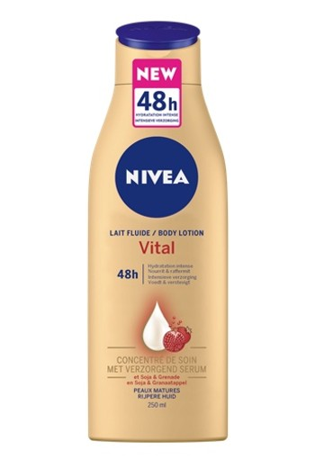 NIVEA VITAL BODY LOTION 250 ML