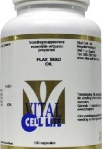Vital Cell Life Flax seed oil 1000 mg (100 capsules)