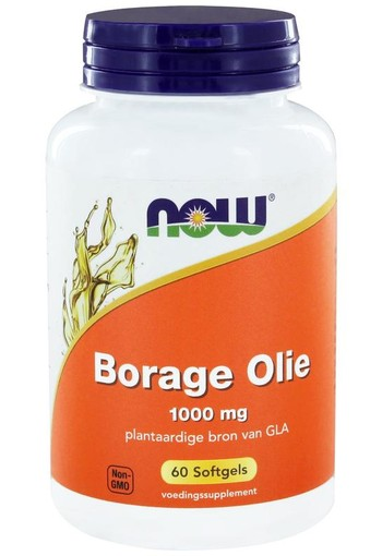 NOW Borage oil 1000 mg (60 softgels)