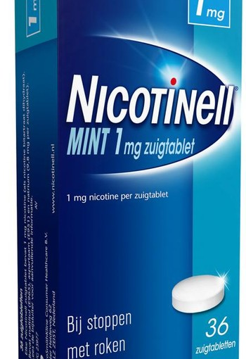 Nicotinell Mint 1 mg (36 zuigtabletten)