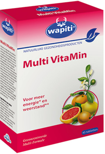 Wapiti Multi vitamin (45 tabletten)