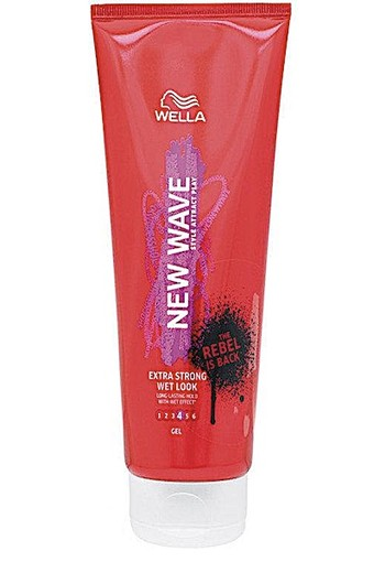 Wella New Wave Wet Look Extra Strong Gel level 4