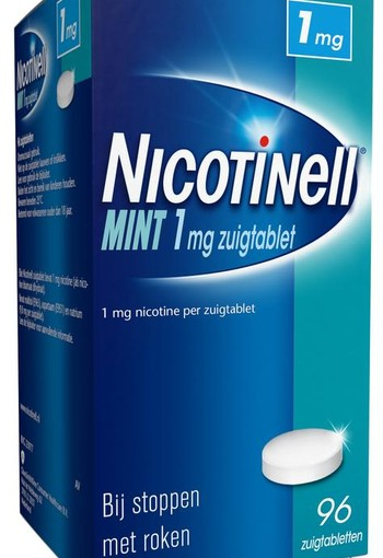 Nicotinell Mint 1 mg (96 zuigtabletten)