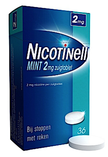 Nicotinell zuigtablet mint 2 mg- 36 st.