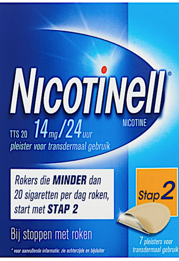 Nicotinell Tts20 14 Mg 7st