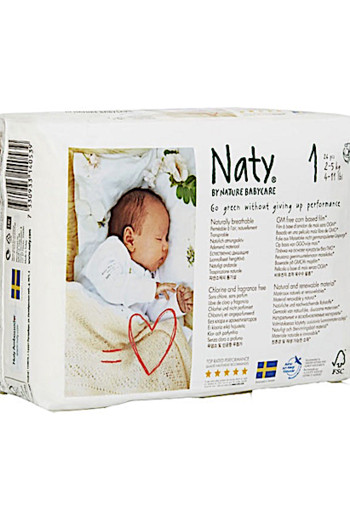 Naty Na­tu­re Ba­by­ca­re One new born 1 /26 stuks