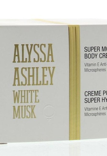 Alyssa Ashley White musk body cream (250 ml)