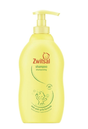Zwitsal Shampoo boys pompflacon 400 ml