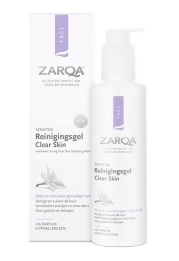 Zarqa Young reinigingsgel clear skin (200 ml)