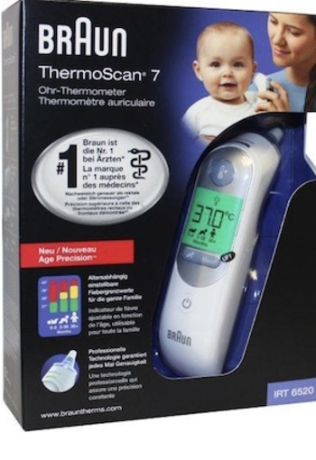 Braun Thermoscan 7 Irt6520 1st