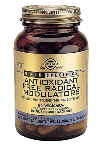 Solgar Vitamins Anti-oxidant Free Radical Modulators (60 capsules)