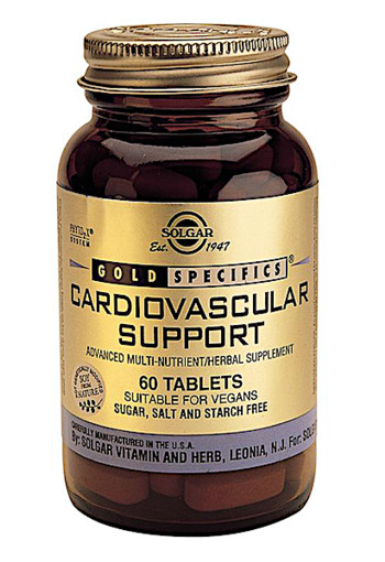 Solgar Vitamins Cardiovascular Support (60 tabletten)