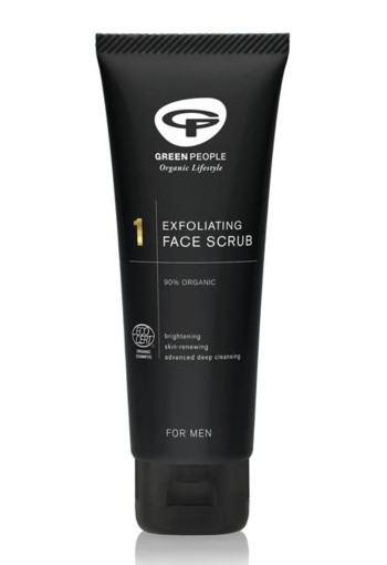 Green People Men face scrub exfoliating (100 ml)