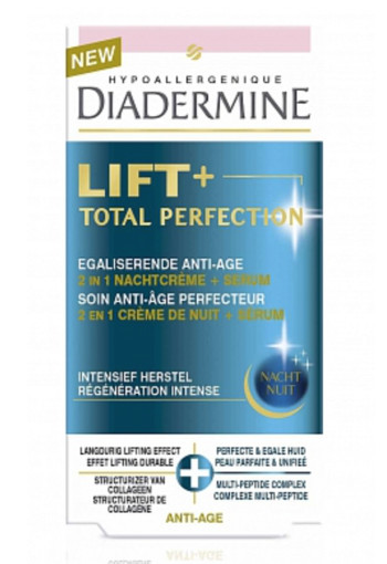Diadermine Lift+ perfect total perfection night cream & serum (50 ml)