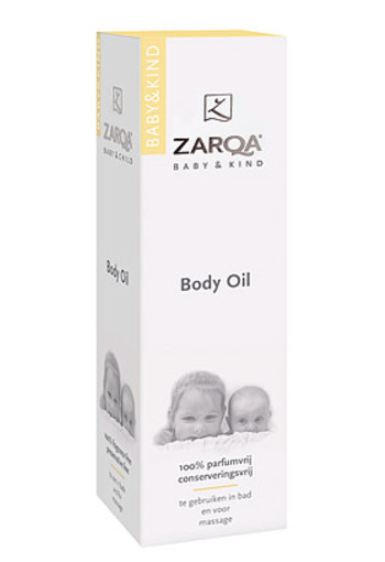 ZARQA BABY EN KIND BODY OIL 200ML