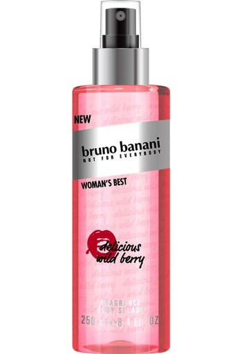 Bruno Banani Woman's Best Bodysplash - Body Mist 250 ml