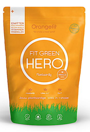 OrangeFit Fit Green Hero Vanille  450gram