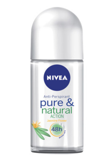 Nivea Deodorant roller pure & natural jasmine (50 ml)