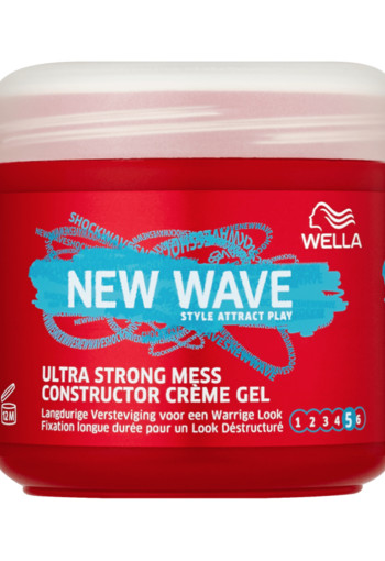 Wella New Wave Ultra Strong Mess Constructor Gel 150 ml