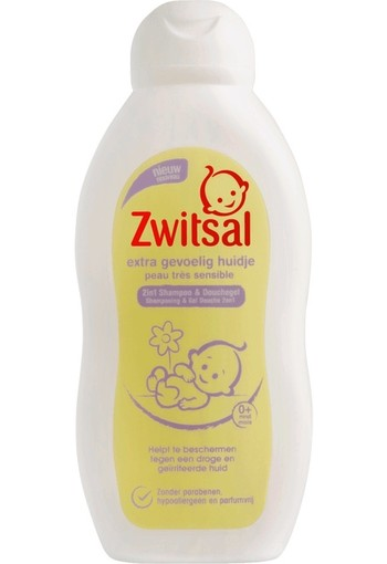 Zwitsal 2 in 1 sensitive care 200 ml