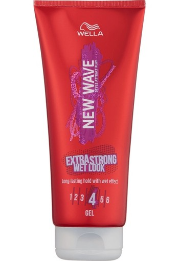 New Wave Wet Look Gel Extra Strong 200ml