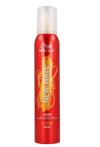 Wella New Wave boost it volume mousse (200 ml)