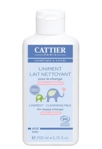 Cattier Baby reinigingsmelk billenbalsem (200 ml)