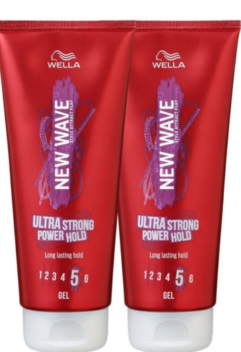 New Wave Power hold gel bundle 200 ml (2 stuks)