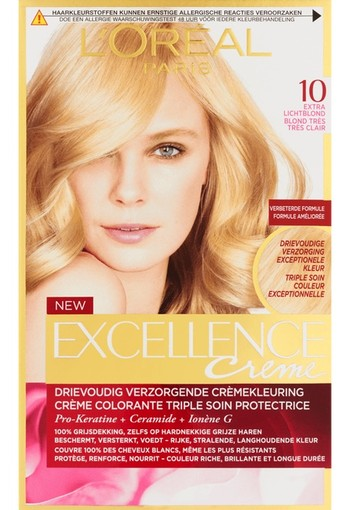 Loreal Excellence 10 Extra lichtblond (1 set)