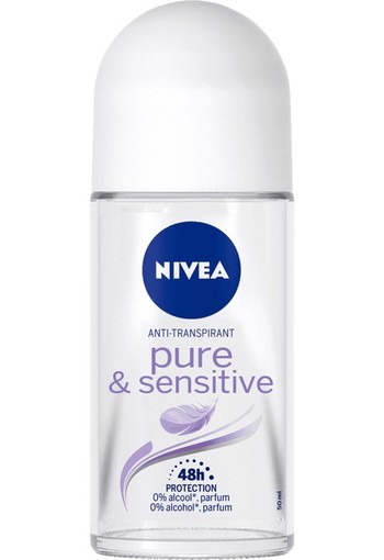 Nivea Deodorant roller sensitive & pure (50 ml)