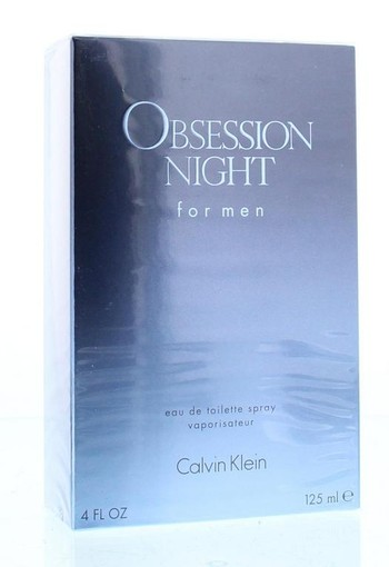 Calvin Klein Obsession night men eau de toilette (125 ml)