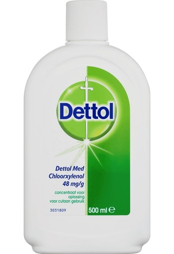 Dettol Brown liquid ontsmetting (500 ml)
