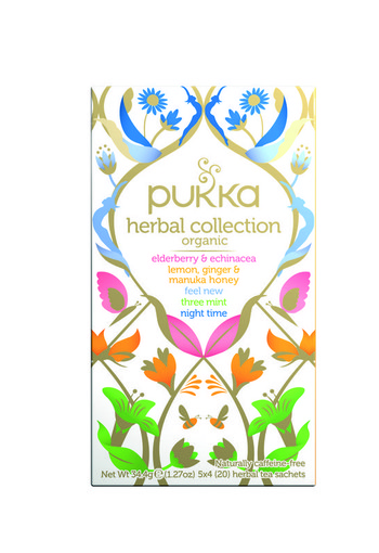 Pukka Org. Teas Herbal collection