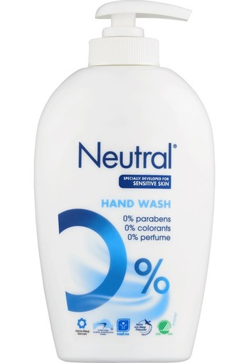 Neutral Sensitive Skin Hand Wash Pomp 250 ml