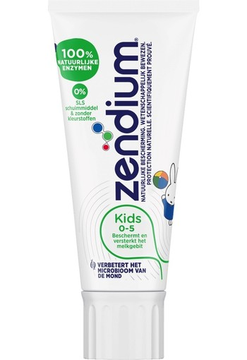 ZENDIUM KIDS NIJNTJE (0-5 JR) TANDPASTA 50ML