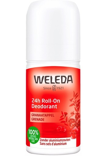 Weleda Deodorant Roll-on Granaatappel 24h 50ml