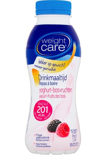 Weight Care Afslank Drinkmaaltijd Yoghurt Bosvruchten 330ml