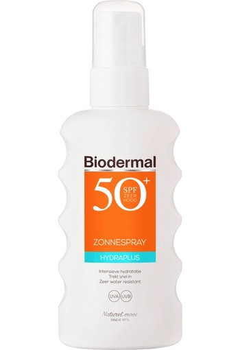 Biodermal Hydraplus zonspray SPF50 175 ml