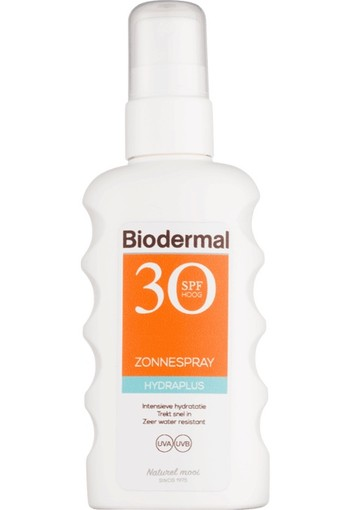 Biodermal Hydraplus Zonnespray SPF30 175 ML