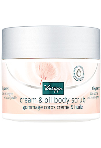 Kneipp Silky Secret Cream & Oil Body Scrub 200 ml